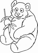 Panda Coloring Pages Bear Clipartpanda Gambar Clipart Mewarnai Terms sketch template