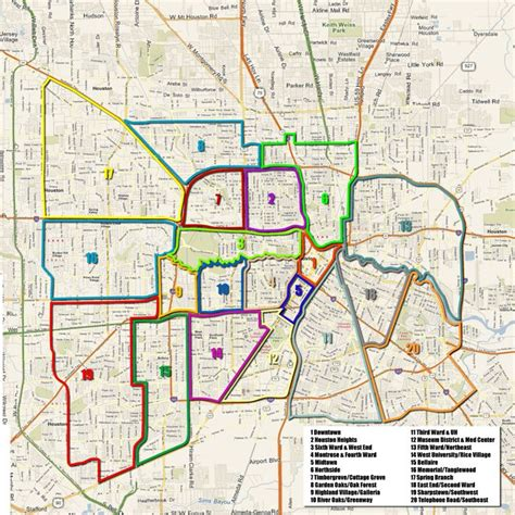 houston arts  media projects neighborhoods map