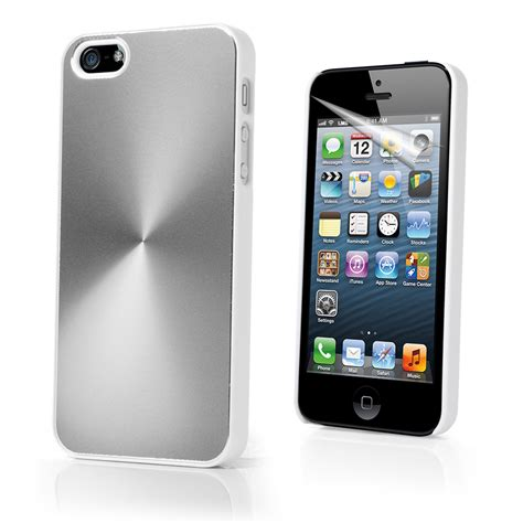iphone 5 silver silver aluminium cover for apple iphone5 iphone