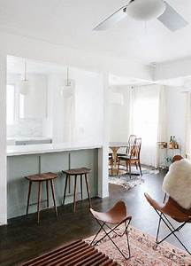 Bar Séparation Separation Cuisine Salon : cuisine ouverte avec bar pour s paration sur le salon ~ Melissatoandfro.com Idées de Décoration