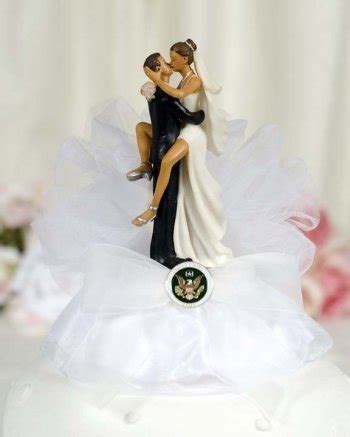 milirtary wedding cake toppers home