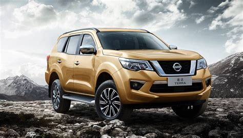 Isuzu Mux 4k Wallpapers by Nissan Terra Suv S China Launch In April Is India Next