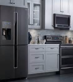 kitchen faucet black finish black stainless steel appliances
