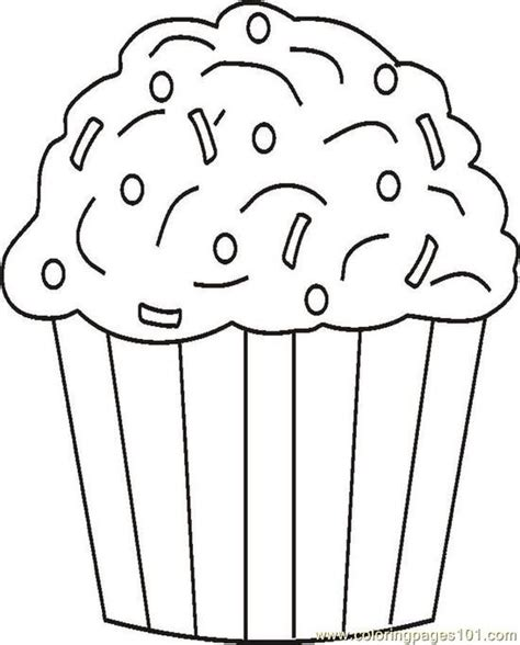cupcake coloring pages bestofcoloring