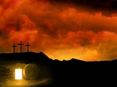 Easter Religious Backgrounds Background Wallpapers Tomb