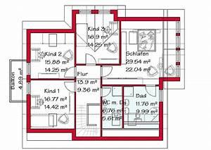 Haus Grundriss Ideen Einfamilienhaus : brillant ideen haus mit drei kinderzimmern und sch ne ~ Lizthompson.info Haus und Dekorationen