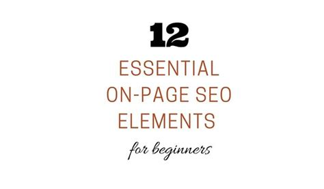 seo for beginners seo for beginners a 12 step checklist website owners must