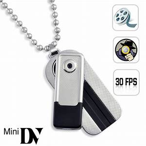 CHAIN Necklace Hidden Hiden Digital Video Spy Camera Mini ...