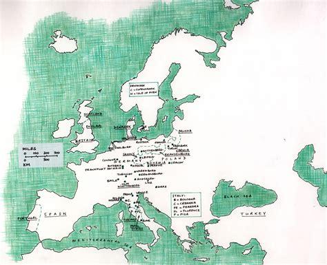 map of modern europe starry messenger maps