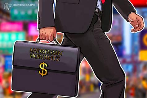 Andreessen Horowitz führt Finanzierungsrunde für ...