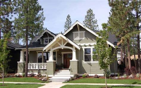 Craftsman Style Single Story House Plans