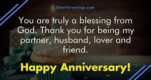 Happy Anniversary Wishes for Husband – Events Greetings
