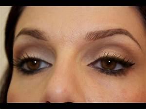 Maquillage Yeux Tuto : tuto maquillage d butant cut crease neutre eyeliner youtube ~ Nature-et-papiers.com Idées de Décoration