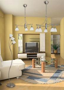 Správné osvětlení obývacího pokoje
