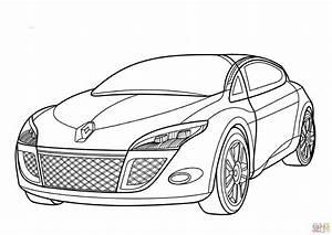 desenho de renault megane para colorir desenhos para With renault clio rs