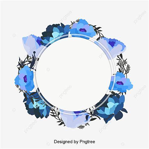 foto de Caja Acuarela Azul Corona Título Vector PNG Azul Cielo