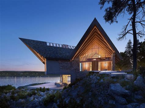 A Set Of Extraordinary Exteriors by A Set Of Extraordinary Exteriors Housing Roof