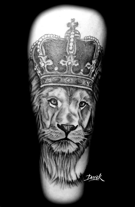 Lion King  Darick Tattoos Paris