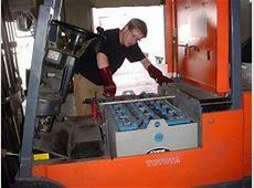 Toyota Forklift Battery Charger Maintenance Program
