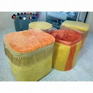 Pouf Fausse Fourrure : pack pouf tabouret en fausse fourrure sac de rangement de jouet offert meubles et d coration ~ Teatrodelosmanantiales.com Idées de Décoration