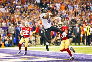 ravens beat ers  win super bowl taipei times