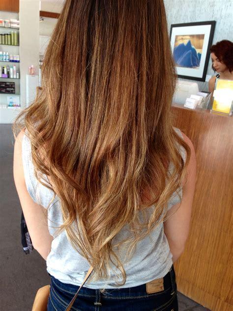 dark brown hair with light brown tips light brown hair ombré hairspiration pinterest nice
