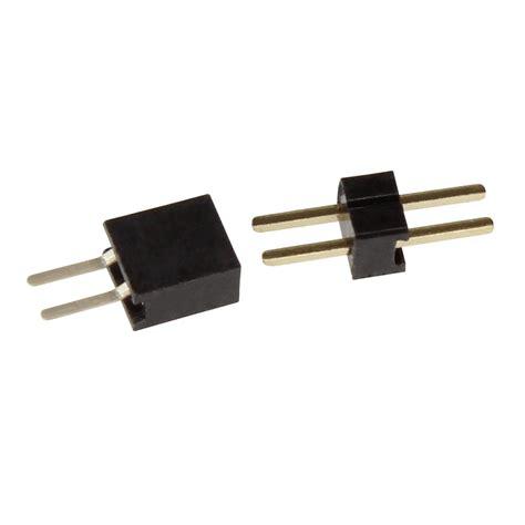 niedervolt stecker 2 polig 10 mini steckverbinder 2 polig rm 1 27mm stecker set ebay