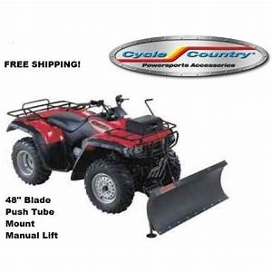Cycle Country Complete Manual Snow Plow Kit And Lift System