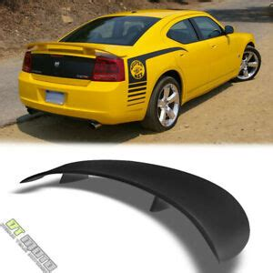 06-10 Dodge Charger Rear Trunk Black Abs Spoiler Wing ...