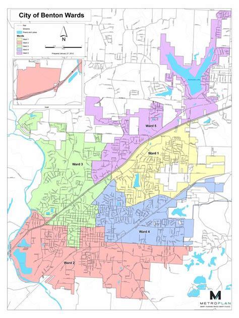 Official Website Of Benton Arkansas Ward Map