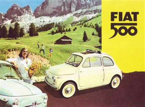 Fiat 500 Ad by Fiat500 Vintage Ad