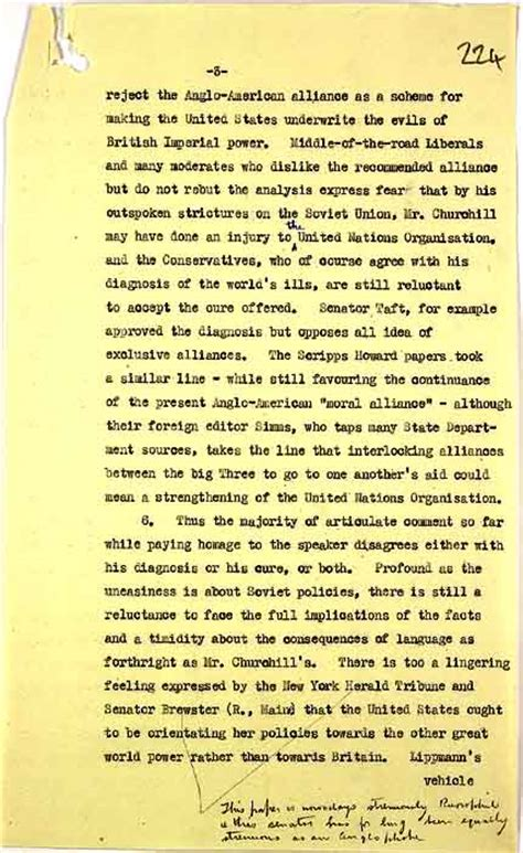 churchills iron curtain speech text the national archives learning curve cold war
