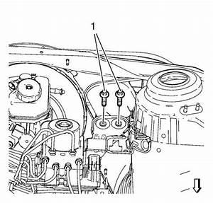 Vauxhall Workshop Manuals  U0026gt  Astra J  U0026gt  Brakes  U0026gt  Hydraulic