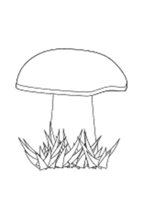 pilze ausmalbilder von pilzen