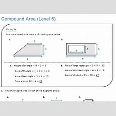 Compound Area (level 5) By Jdstrauss  Teaching Resources