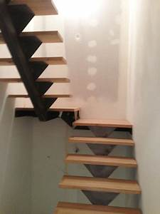 Réalisation escaliers sur mesure sur l'Ouest Lyonnais
