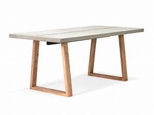 Möbel Aus Beton : betontisch esstisch aus beton 215x90 ~ Michelbontemps.com Haus und Dekorationen