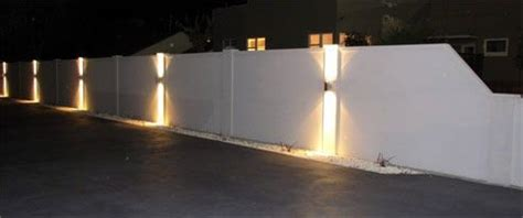 boundary wall light fittings boundary wall lights photo 2 lighting in 2019 exterior