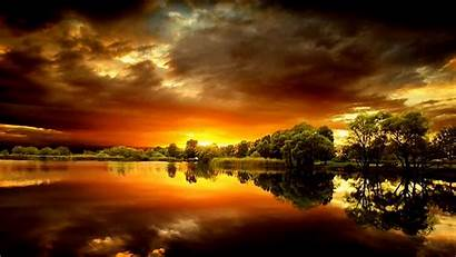 Sunset Wallpapers Amazing Desktop Background Spectacular Lake