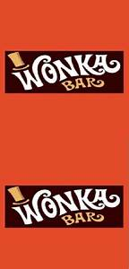 free printable wonka bar wrappers your golden ticket With willy wonka candy bar wrapper template
