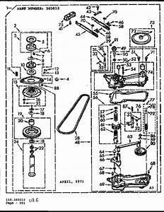 Kenmore 110 6804260 Transmission Case Gasket