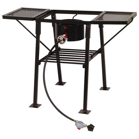 single burner outdoor patio stove king kooker r single burner outdoor c stove with side