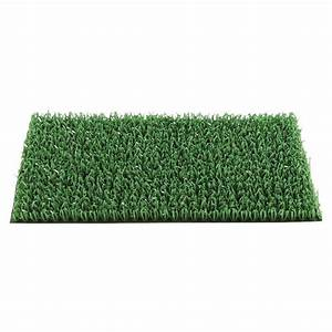 paillasson tapis gazon synthetique vert astroturf pelouse With tapis gazon synthétique