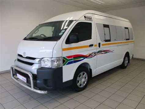 Used Toyota Quantum 25 D4d Sesfikile 16s For Sale In