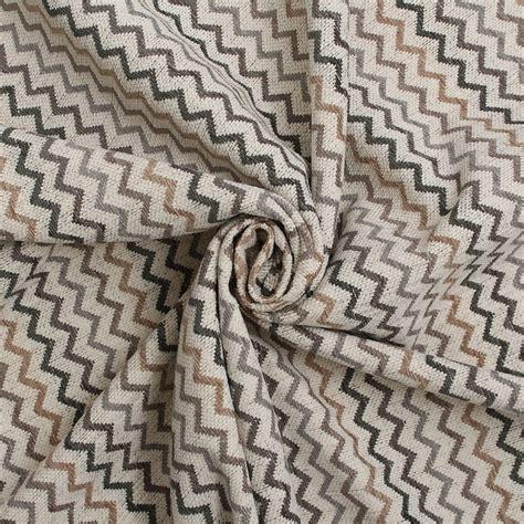 Zig Zag Upholstery Fabric by Next Fabrics Zig Zag Stripe Upholstery Fabric