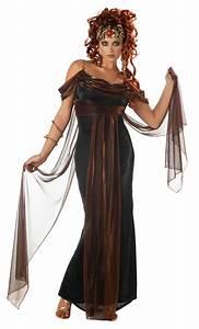 Mythical Medusa Greek Goddess Deluxe Womenu002639s Fancy Dress