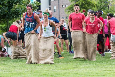 unexpected ways outdoor team building   boost