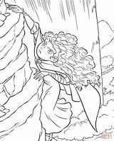 Coloring Pages Brave Rock Climbing Merida Princess Printable Printables Disney Sheets Inspired Supercoloring Ratings sketch template