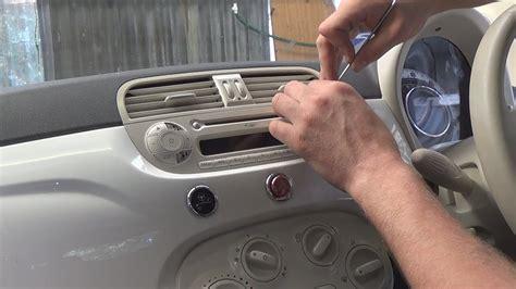 radio removal fiat    justaudiotips youtube