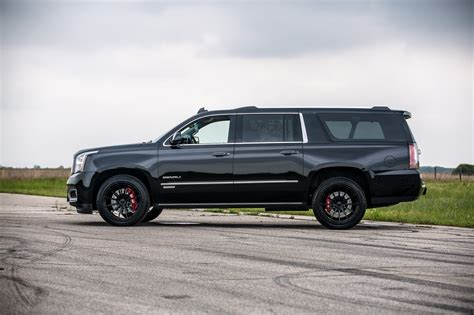hennessey superchargers gmc yukon denali to 650 horses